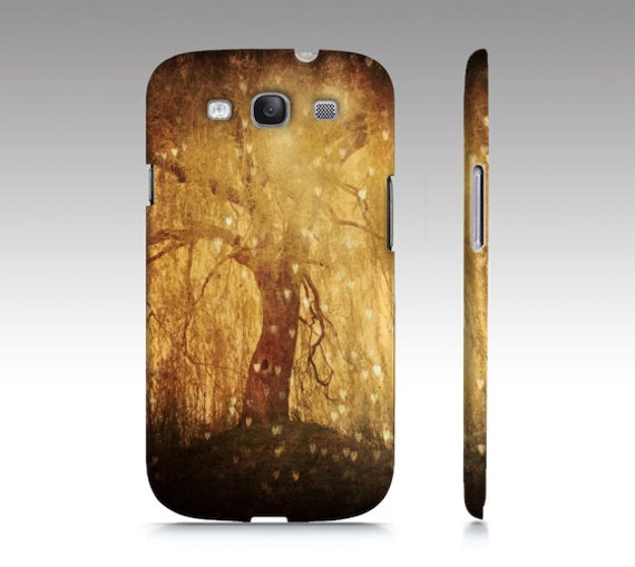 Tree Phone Case, Samsung Galaxy S5 Case, iPhone 4, Magical, Nature Photography, Tree of Life, Golden, Hearts, Dreamy, iPhone 6, Galaxy S4
