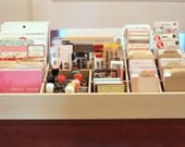 """SALE! Large 24"""" craft storage for scrapbooking, project life and more"""