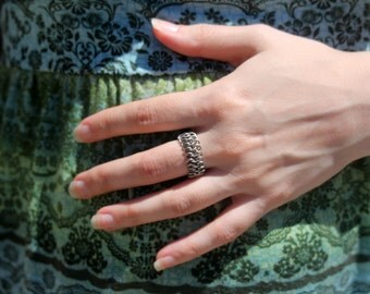 Stainless Steel Chainmaille Ring