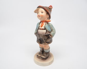 Vintage Hummel Brother  95, 6 inches tall, Goebel W. Germany, Hand Painted