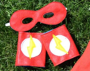 Super Hero Mask and Power Band Set