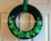 St.Patrick's Wreath - READY TO SHIP!
