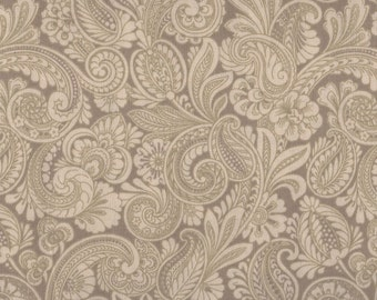 In Flight Paisleys by American Greetings, Paisley Fabric, Floral Fabric, 1 Yard Fabric, 00493