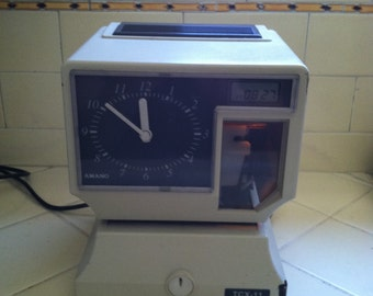 Time Clock TCX-11 Industrial man cave