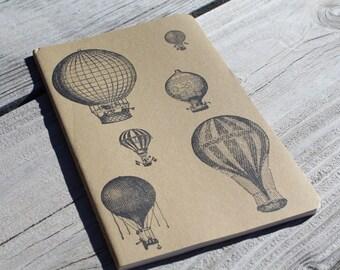 Antique Hot Air Balloon  Journal