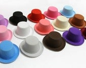 INFANT Mini Top Hats, Newborn Photography Hat for Baby Photos- set of 5