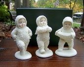 """Snowbabies """"Dancing to a Tune""""  c.1988 #6808-0"""