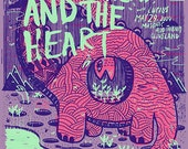 The Head and the Heart Cleveland Screened Poster