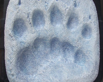 Polarbear Pawprint 12 in.