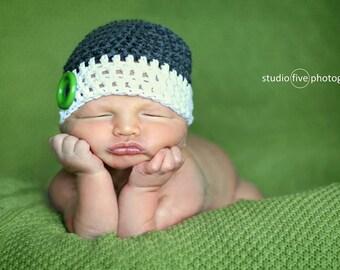 boys hat, newborn boy hat, baby hat, baby boy hat, crochet baby hat