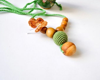 SALE 20%-Nursing Necklace/Teething Necklace-Breastfeeding Necklace-Mother's day