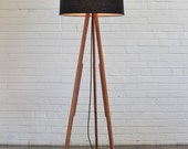 Modern Floor Lamp (black/black)