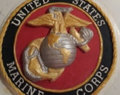 USMC Cake Topper EGA