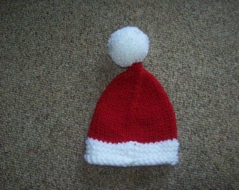 Santa,Hat,Photo Prop,Babies,Boys,Girls,Gift,Holiday,Christmas,Newborn,Infants