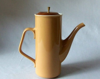 Mid Century Modern Taylor Smith Taylor Coffee Pot  Ceramic Pitcher Treasury Item