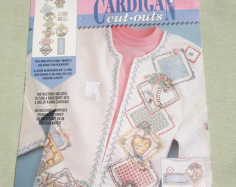 Cardigan Fabric Cut Outs - Sewing Project - Daisy Kingdom