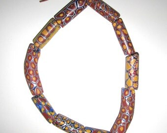Strand of Ten Antique Venetian Eye Beads for African Trade