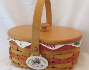 Longaberger Tea for Two Mother's Day Basket