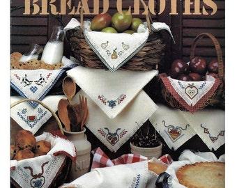 Kitchen Stichin  Bread Cloths / Cross Stitch Pattern Leaflet 2265/ Leisure Arts