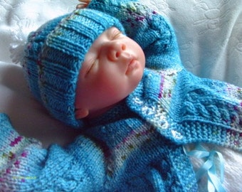 "ALMOST FREE Baby Bobbles - To fit 17-19"" Reborn - Knitting Pattern"