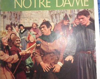 Vintage 1957 The Hunchback of Notre Dame Dell Comic Book