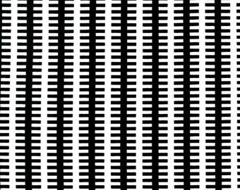 Fishbone in Black - Graphyx - Mark Hordyszynski - Michael Miller Fabric - 1 Yard  Ask a Question