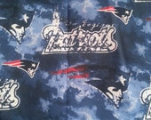 New England Patriots Tag Blanket with Personalization