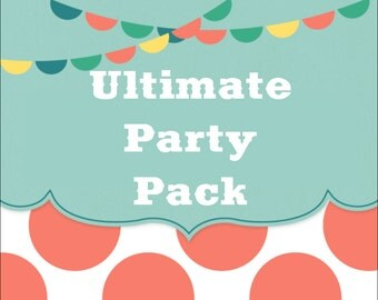 SALE - Build Your Own ULTIMATE Party Pack - Any Theme In The Shop