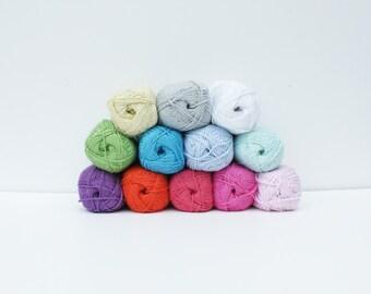 1x Cotton Bamboo DK yarn 100g