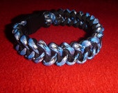 RESERVED For Sue - Paracord Survival Bracelet - PIRANHA stitch - COBRA 550-rugged style