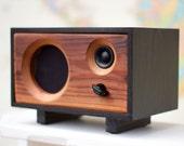 SALE! Wood Desk Speaker    Reclaimed Wood Wireless Bluetooth Speaker    Fawn Speaker   Ebony & Redwood