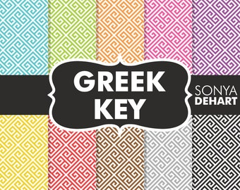 60% OFF SALE Greek Key, Greek Key Patterns, Greek Key Papers, Greek Digital Papers, Greek Patterns, Greek Papers, Key Patterns