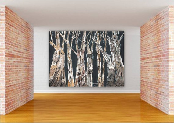 Extra large wall art Oversized living Dining room masculine