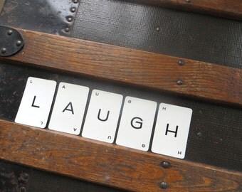 LAUGH Vintage alphabet cards