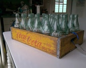 Vintage Coke Bottle Crate