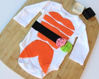 Sushi Baby Costume, Baby Halloween Costume, Long Sleeve Sushi Costume, Funny Baby Costume, Food Theme Costume