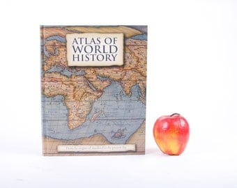 Book iPad Cover- Tablet Case made from a Book- Atlas of World History