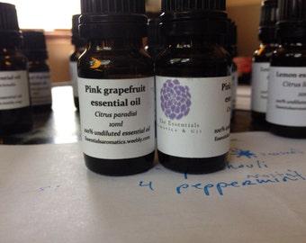 Pink grapefruit essential oil 10ml