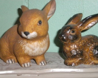 Adorable Vintage Bunnies, Collectables, Easter Decor,