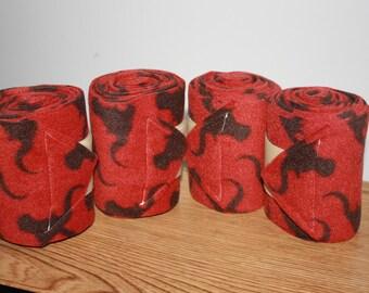 Steer Polo Wraps (set of four), Leg Wraps