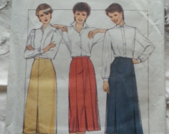 Style skirt pattern 4072, 1983, Sizes 8-12