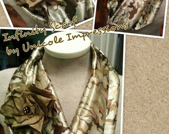 Military Style Infinity Scarf