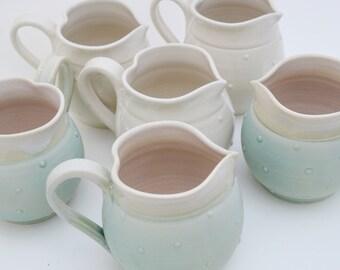 White Ceramic Heart Mug, IN STOCK, White Stoneware Decorated Mug, Handthrown Heart Cup, Novetly Christmas Mug