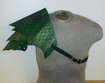 Leather Armor Dragon Scale Shoulder