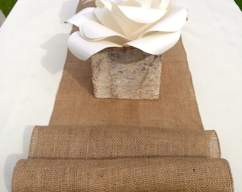 8 foot, Burlap Table Runner 14'' wide x 96'' long, wedding, decor, parties, special event