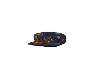 ID #7924 Multicolor Hat Fashion Iron On Embroidered Patch Applique