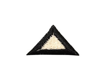 ID #8820 Lot of 3 Triangle Trim Border Shape Embroidered Iron On Applique Patch