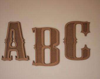 8x10 cardboard letters