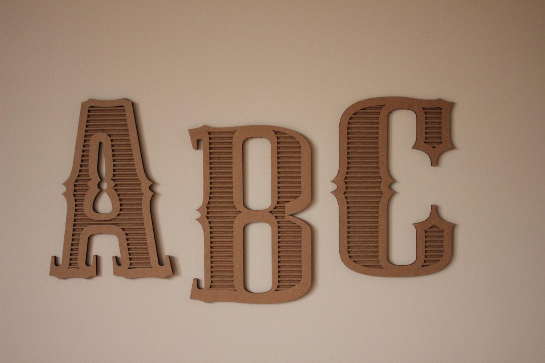 8x10 cardboard letters for 24 cardboard letters