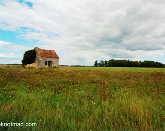 French Country Side Cottage, instant download